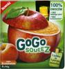 Mus GoGo Squeez jabłkowo - brzoskwiniowy
