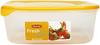 Pojemnik do żywności Fresh&Go kwadratowy żółty 2,9L