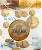 Andruty Talary Królewskie Naturalne z kakao
