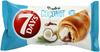 7 Days Doub!e Max Croissant z nadzieniem o smaku kakaowym i kokosowym