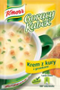 Gorący kubek Knorr krem z kury z grzankami