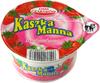 Kaszka manna z truskawkami