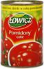 Łowicz Pomidory całe bez skórki 400 g