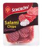 Salami chips czosnkowe /80g