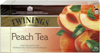 Herbata brzoskwiniowa twinings 25szt*2g/50g