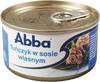 Tuńczyk Abba w sosie własnym
