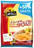 Frytki 123 karbowane 750g + 50%gratis