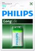 Bateria Philips LongLife 6F22 9V