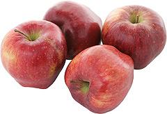 Jabłka czerwone Delicja (kal.85-90)