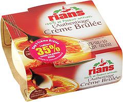 Creme Brulee Rians waniliowy