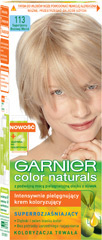 Farba Garnier Color Naturals 113 - superjasny beżowy blond