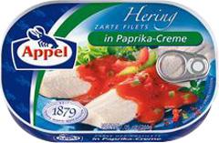 Filety śledziowe Appel w kremie paprykowym