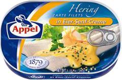 Filety śledziowe Appel w kremie musztardowo-jajecznym