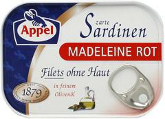 Sardynki w oleju Madeleine Rot