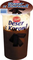 Deser Zott z Koroną czekolada