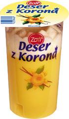 Deser Zott z Koroną wanilia