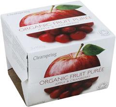 Deser jabłkowo - żurawinowy BIO