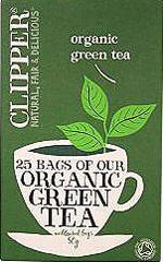 Herbata Clipper Green China 25*2g