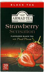 Herbata Ahmad Tea Strawberry Sensation