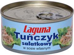 Tuńczyk Laguna B&K sałatkowy w sosie własnym