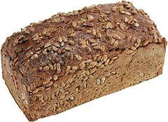 Chleb ze słonecznikiem.