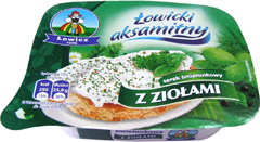 Serek Łowicki aksamitny z ziołami