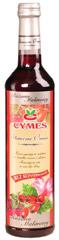 Cymes syrop  różano - malinowy