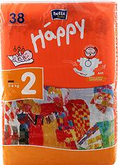 Pieluszki Bella Baby Happy 2 mini od 3 do 6 kg