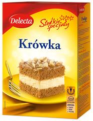 Ciasto Delecta Krówka