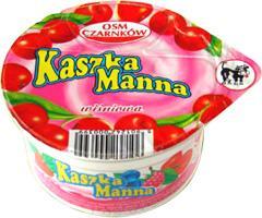 Kaszka manna z wiśniami