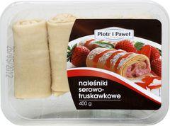 Naleśniki Piotr i Paweł serowo-truskawkowe