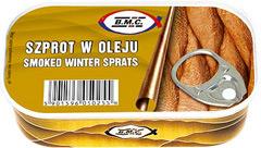 Szprot B.m.c. w oleju