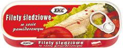 Filety B.m.c. śledziowe w Sosie pomidorowym