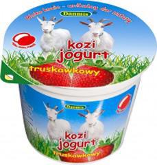 Jogurt kozi truskawkowy Danmis