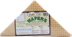 Wafle tortowe trójkąt