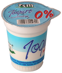 Jogurt naturalny 0%
