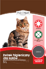 Żwirek Piotr i Paweł bentonitowy dla kota