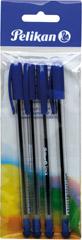 Długopisy Stick niebieskie