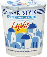 Jogurt Greek Style light naturalny typ grecki