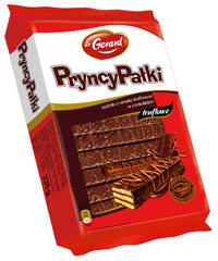 Wafle PryncyPałki truflowe w czekoladzie