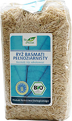 Ryż basmati pełnoziarnisty Bio Planet