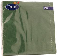 Serwetki Duni orient green