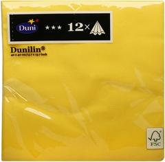 Serwetka d-lin 40cm żółta Serwetka d-lin 40cm żółta