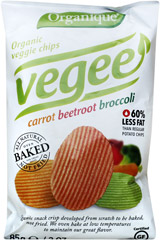 Chipsy bio warzywne bezglutenowe/85g