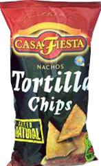 Chipsy tortilla naturalne