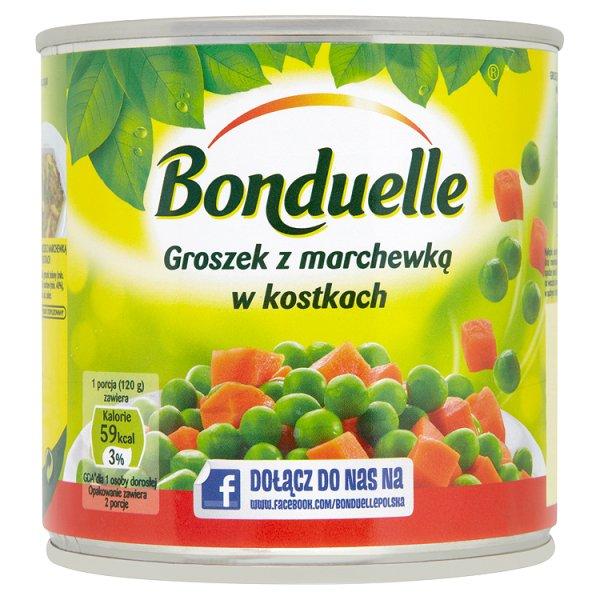 Groszek z marchewką Bonduelle