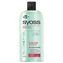 Balsam do włosów Syoss Silic Free Color&Volume