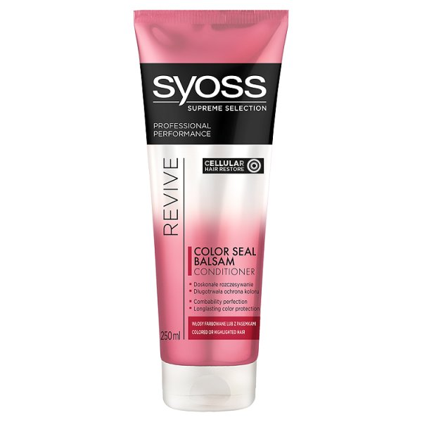 Syoss supreme balsam do włosów revive