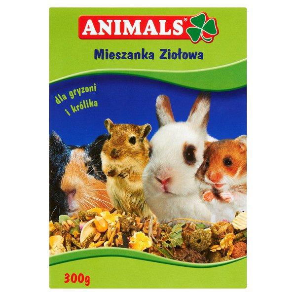 Pokarm ziołowy dla gryzoni i królików