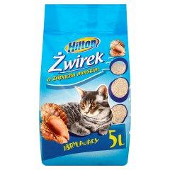 Żwirek dla kota zbrylajacy zapach